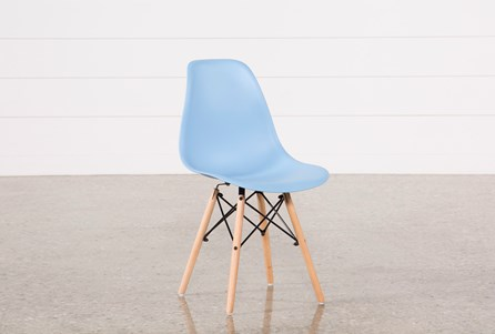 Cole Blue Side Chair