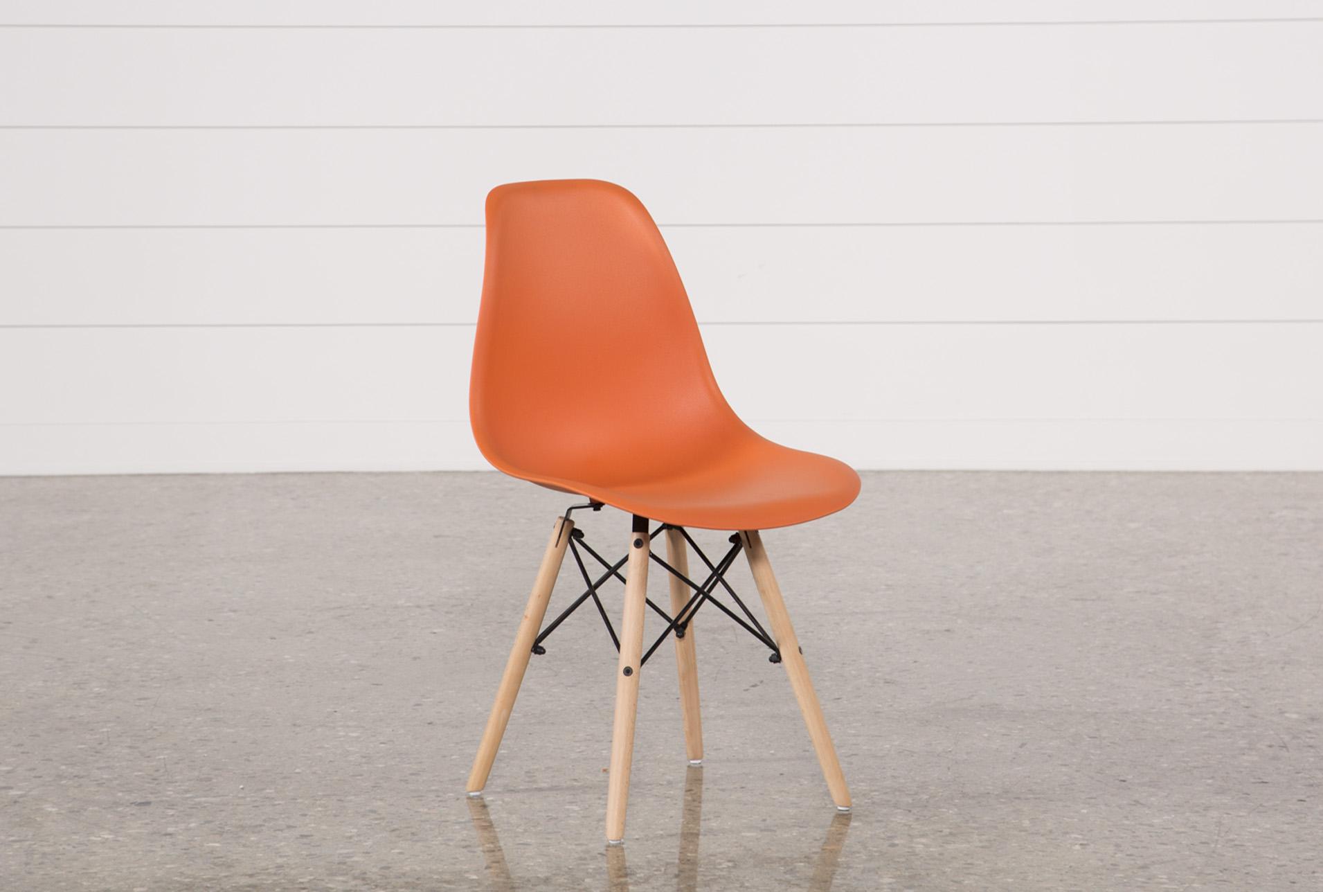 Cole Orange Side Chair   360