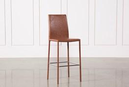 Hayden Cognac 30 Inch Barstool