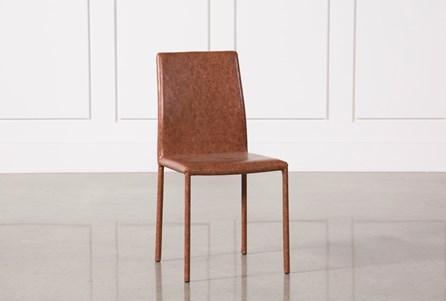Hayden Cognac Side Chair
