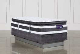 Observer Pillow Top Twin Extra Long Mattress W/Foundation