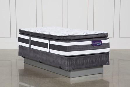 Observer Pillow Top Twin Extra Long Mattress W/Foundation