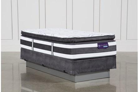 Observer Pillow Top Twin Extra Long Mattress W/Foundation - Main