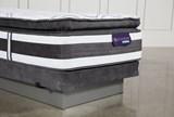 Observer Pillow Top Twin Xl Mattress W/Low Profile Foundation - Top