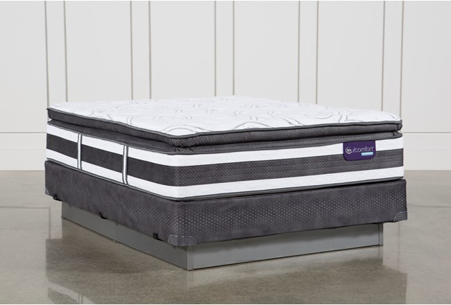 Observer Pillow Top Queen Mattress W Foundation Living Spaces