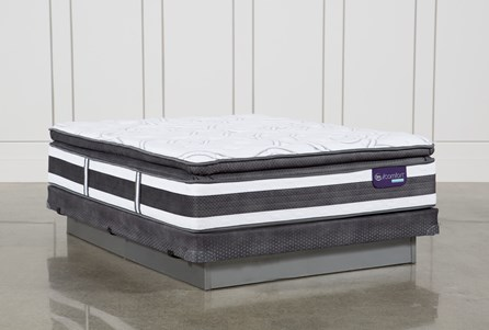 Observer Pillow Top Queen Mattress W/Low Profile Foundation