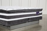 Observer Pillow Top Cal King Mattress W/Low Profile Foundation - Top