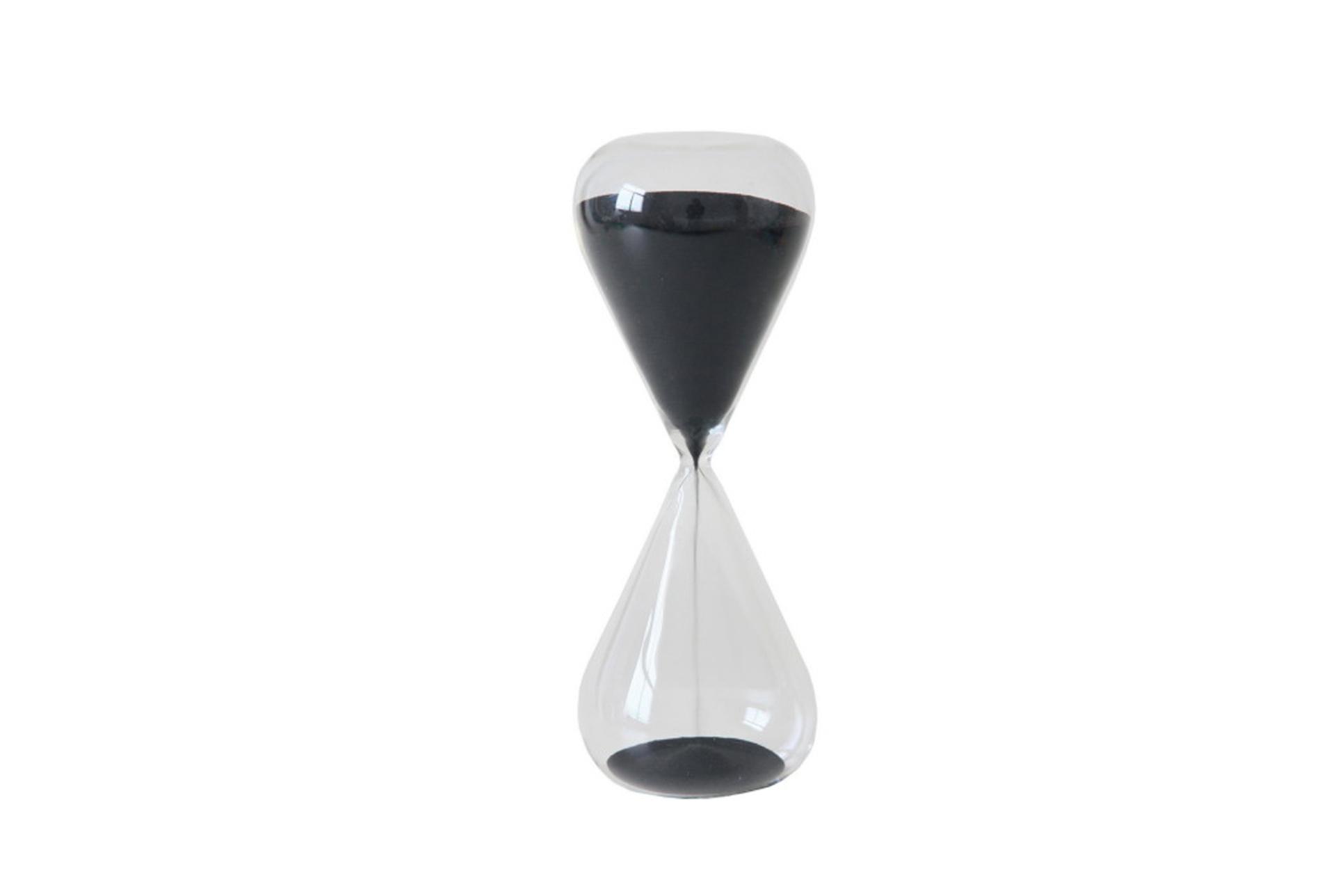 30 Minutes Black Sand Timer   360