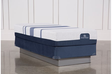 Blue 300 Twin Extra Long Mattress W/Foundation - Main