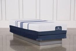Blue 300 Twin Extra Long Mattress W/Low Profile Foundation