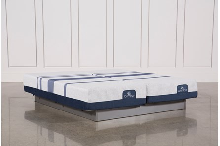 Blue 300 Eastern King Split Mattress Set - Main