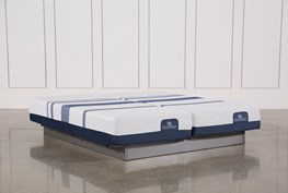 Blue 500 Eastern King Split Mattress Set