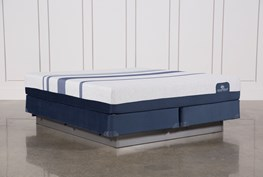 Blue 500 California King Mattress W/Foundation