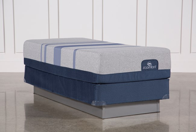 Blue Max 1000 Plush Twin Extra Long Mattress W/Foundation - 360
