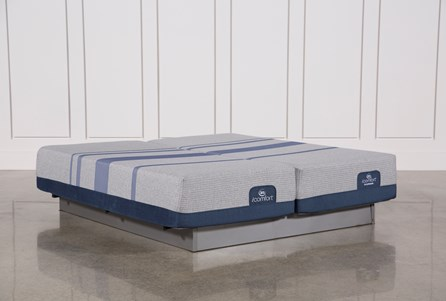 Blue Max 1000 Plush Eastern King Split Mattress Set