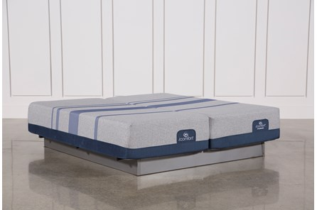 Blue Max 1000 Plush Eastern King Split Mattress Set - Main
