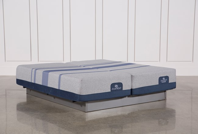 Blue Max 1000 Plush Eastern King Split Mattress