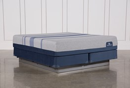 Blue Max 1000 Plush Eastern King Mattress W/Foundation