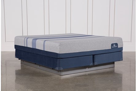 Blue Max 1000 Plush Eastern King Mattress W/Foundation - Main