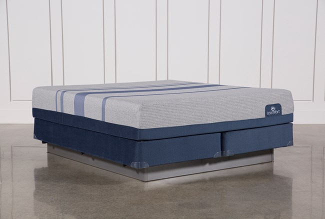 Blue Max 1000 Plush California King Mattress W/Foundation - 360