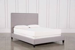 Kaelyn Eastern King Upholstered Panel Bed