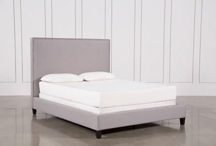 Kaelyn Eastern King Upholstered Panel Bed