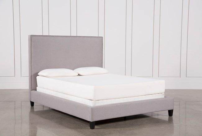 Kaelyn Eastern King Upholstered Panel Bed - 360