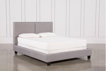 Rylee California King Upholstered Panel Bed