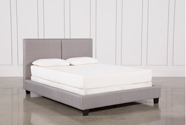 Rylee Eastern King Upholstered Panel Bed