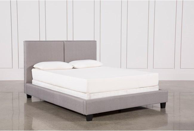 Rylee Queen Upholstered Panel Bed - 360