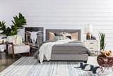 Rylee Queen Upholstered Panel Bed - Room