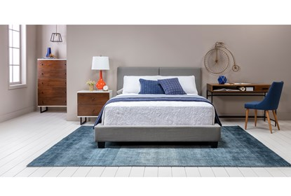 Excellent Rylee Queen Upholstered Panel Bed Creativecarmelina Interior Chair Design Creativecarmelinacom