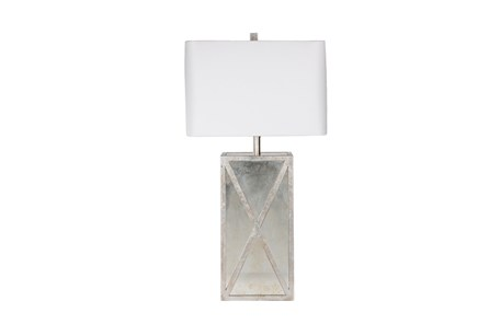 Table Lamp-Antique Mirror X Frame
