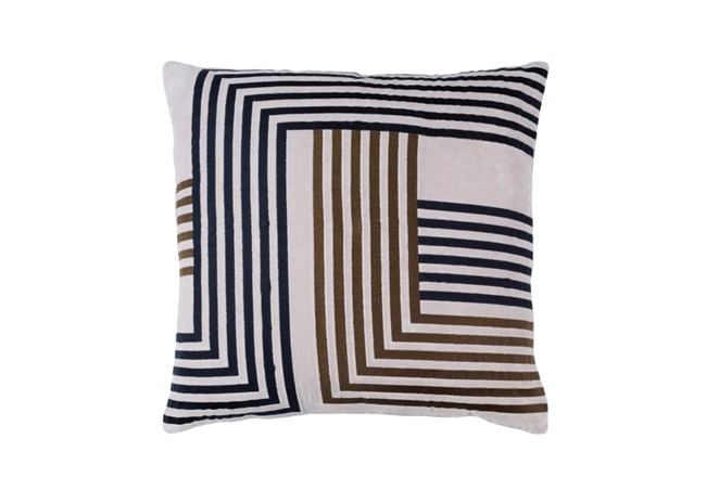 Accent Pillow-Chocolate Overlap 20X20 - 360