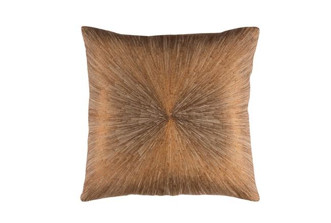 Accent Pillow-Bronze Starburst 20X20 - 360
