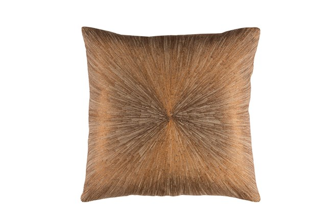 Accent Pillow-Bronze Starburst 20X20 - 360