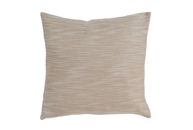 Accent Pillow-Taupe Linen Variation 20X20 - 360