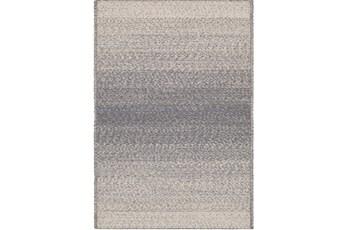 24X36 Rug-Woven Ombre Slate