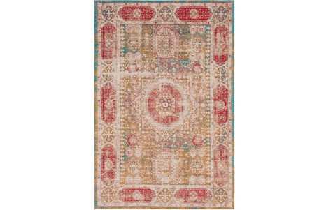 60X90 Rug-Wesley Distressed Spice