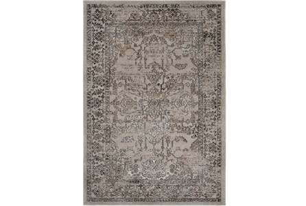 94X123 Rug-Katella Distressed Smoke