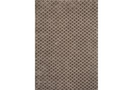 96X120 Rug-Diamond Check Mocha