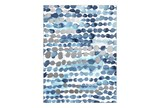 Picture-Blue Dots 30X40 - Signature