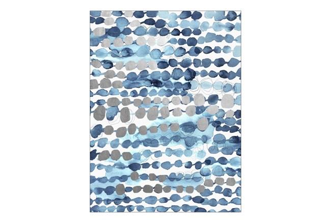 Picture-Blue Dots 30X40 - 360