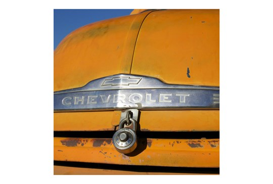 Picture-Yellow Chevrolet 30X30