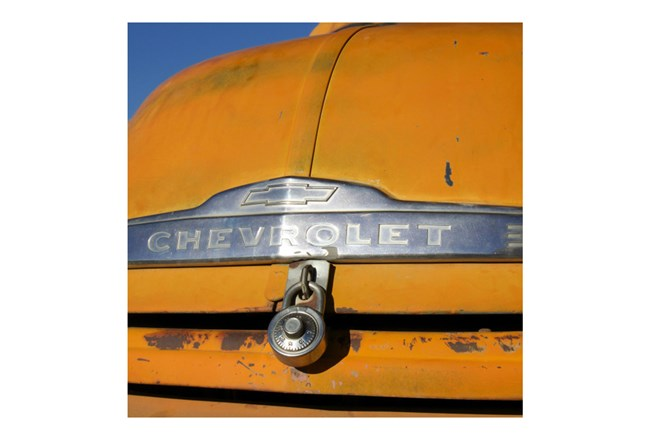 Picture-Yellow Chevrolet 30X30 - 360