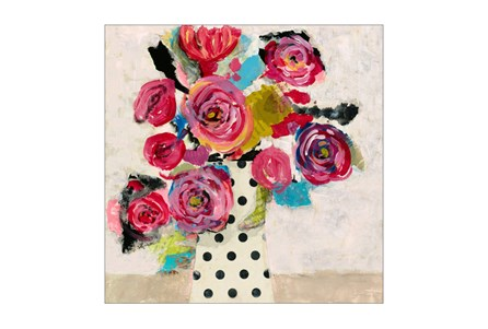 Picture-Polka Dot Vase 30X30