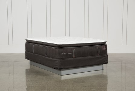 Trailwood Luxury Plush Euro Pillow Top Queen Mattress W/Foundation