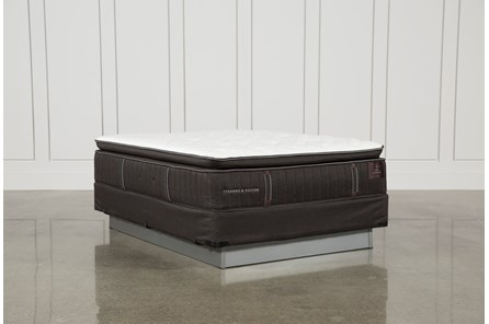 Trailwood Luxury Plush Euro Pillow Top Queen Mattress W/Foundation - Main