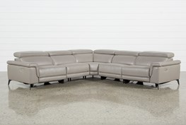 Thatcher Grey 5 Piece Sectional
