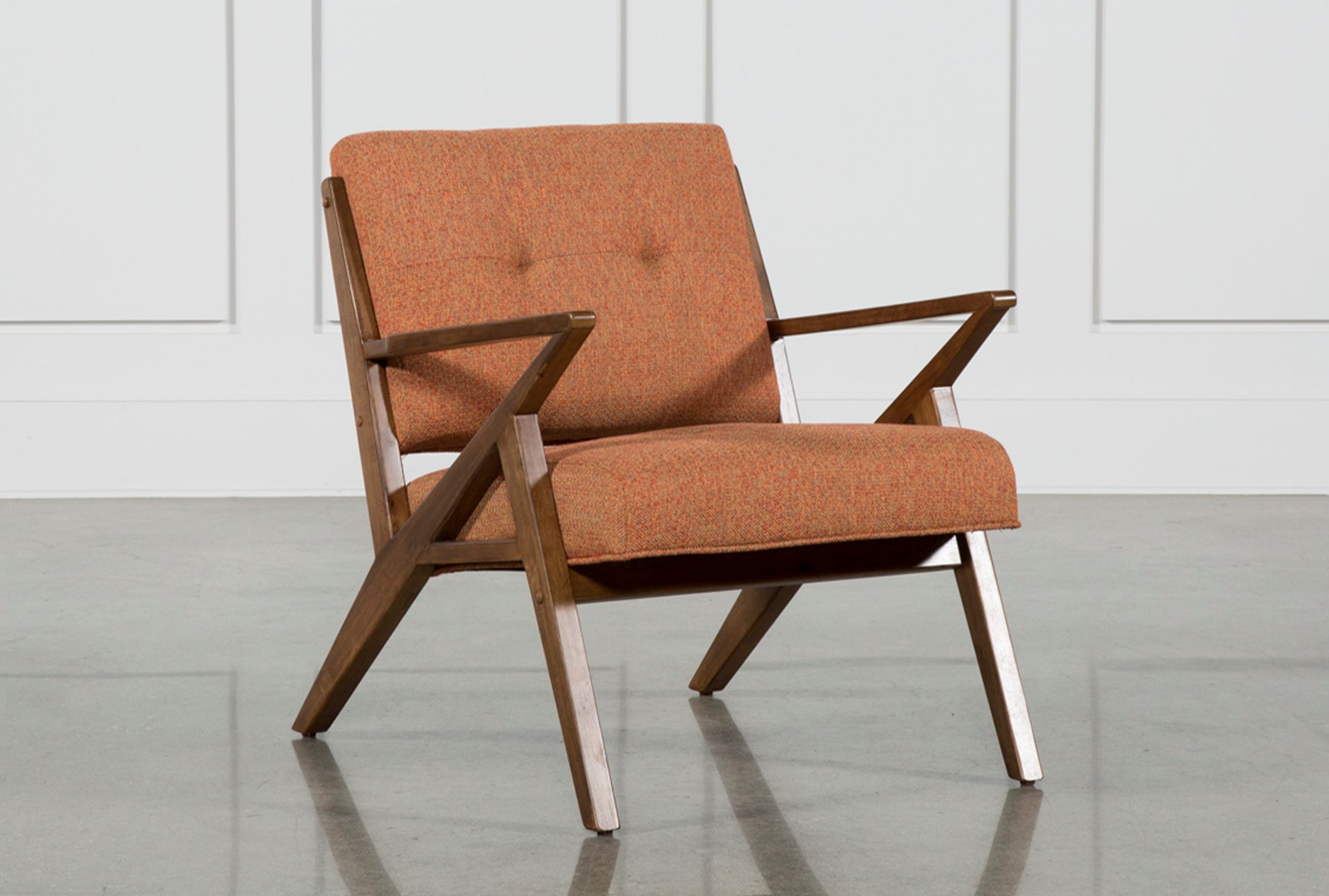 Aldo orange accent chair living spaces added to cart buycottarizona Gallery